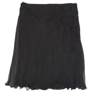 Philosophy Di Alberta Ferretti Black Silk Skirts