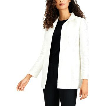 Kasper Womens Topper Jacket Jacquard Business - 16