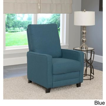 CorLiving Kelsey Fabric Modern Reclining Armchair