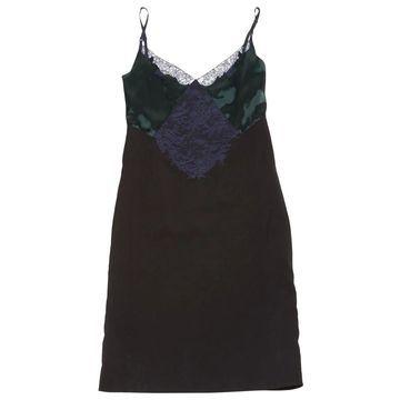 Nina Ricci Green Silk Dresses