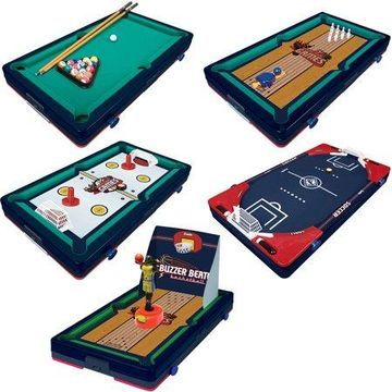 Franklin Sports 5-In-1 Sports Center Table Top Game, 18.5