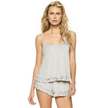 Women's Jezebel Rosanna Ruffled Sleep Camisole & Pajama Shorts Set