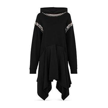 Christopher Kane Hooded Embellished Dress