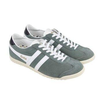 Gola Bullet Grey White Mens Low Top Sneakers