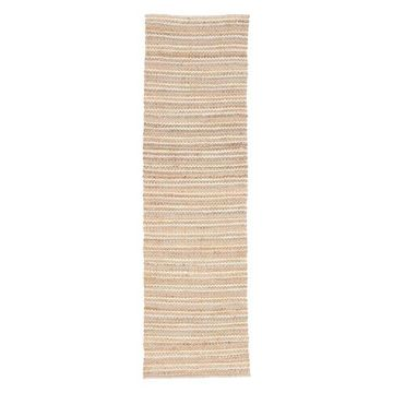 Jaipur Living Cornwall Natural Stripe Beige/Blue Area Rug, 2'6