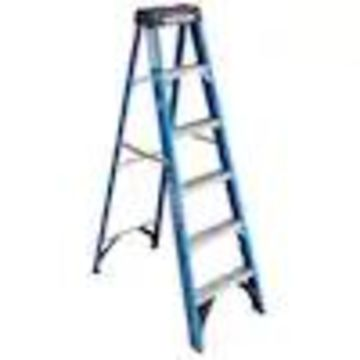 Werner 6-ft Fiberglass Type 1 - 250 lbs. Capacity Step Ladder