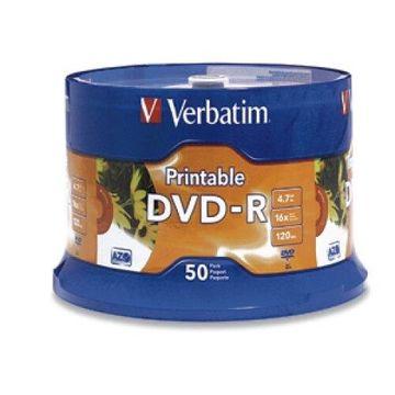 VERBATIM DVD-R WHT INKJT