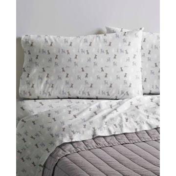 Ed Ellen DeGeneres Printed Cotton Percale Full Sheet Set Bedding