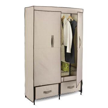 Honey-Can-Do Double-Door Wardrobe