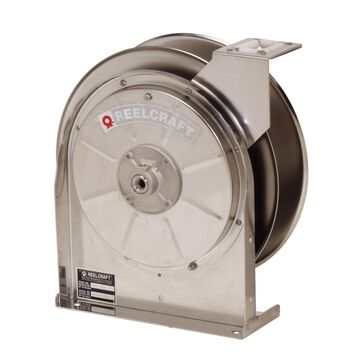5600 OLS 0.375 in. x 35 ft. Stainless Steel 500 PSI Air & Water without Hose Reel