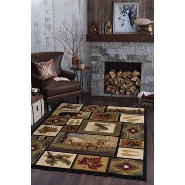 Bliss Rugs Nantucket Novelty Indoor Area Rug