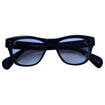 Oliver Peoples \N Black Plastic Sunglasses