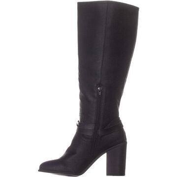 Madden Girl Womens Edrea Almond Toe Knee High Fashion Boots