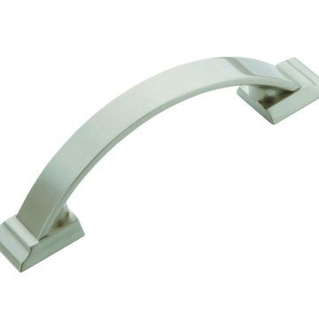 Amerock Candler 3 in (76 mm) Center-to-Center Satin Nickel Cabinet Pull - 10 ...