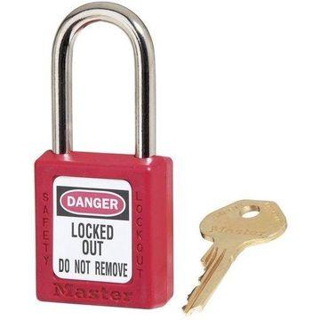 Master Lock 101504108 410KARED Lockout Padlock - Pack of 5