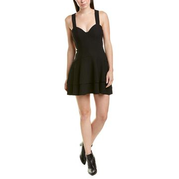 Finders Keepers Womens Lines Mini Dress