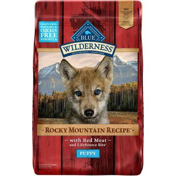 Blue Buffalo Wilderness Rocky Mountain Recipe with Red Meat Puppy Grain-Free Dry Dog Food