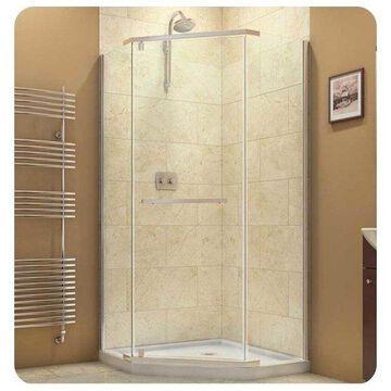 DreamLine Prism Frameless Pivot Shower Enclosure, SHEN-2138380-01