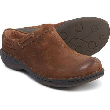 Born Brown Tahoe Clogs - Leather (For Women)