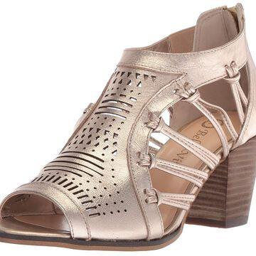 Bella Vita Womens Kortez Leather Peep Toe Casual