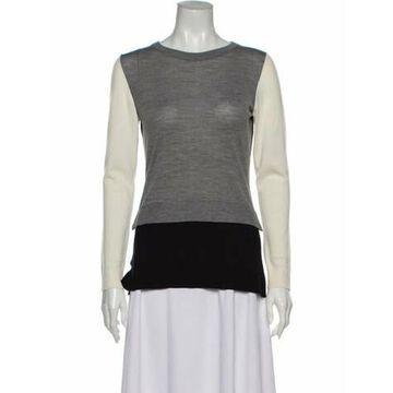 Wool Scoop Neck Sweater Wool