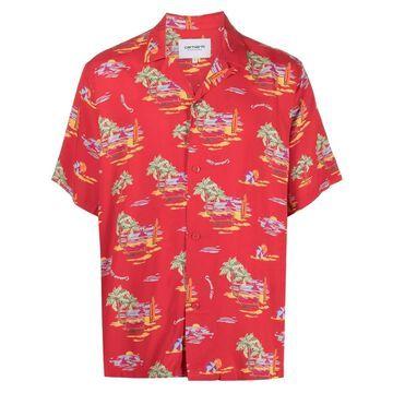 short-sleeve beach shirt