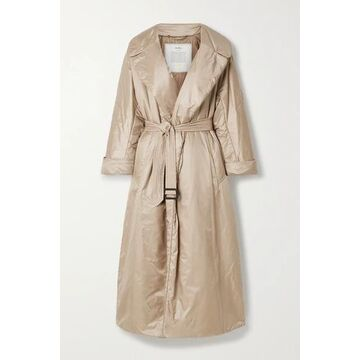 Max Mara - The Cube Cameluxe Belted Shell Coat - Beige