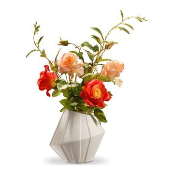National Tree Company Artificial Rose Floral Arrangement
