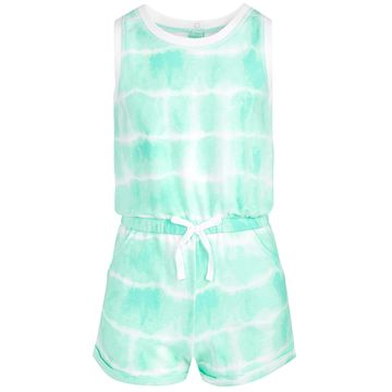 Big Girls Tie-Dyed Romper, Created for Macy's