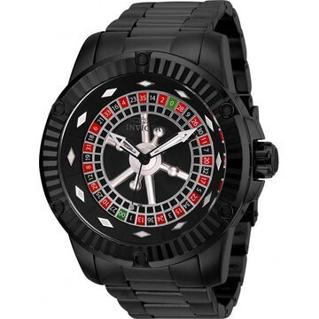 Invicta Men's Specialty Automatic 100m Black Stainless Steel Watch 28712
