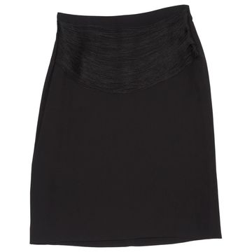 Jil Sander Black Viscose Skirts
