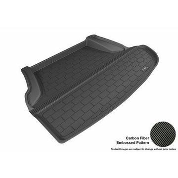 3D MAXpider 2013-2017 Infiniti Q50 All Weather Cargo Liner in Black with Carbon Fiber Look