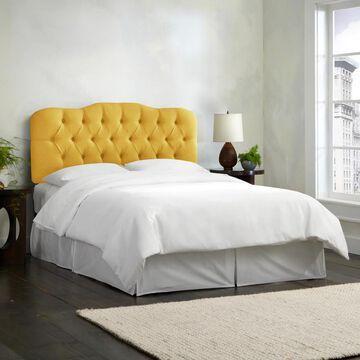 Skyline Furniture Linen Tufted Headboard