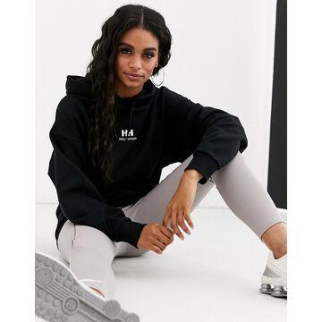 Helly Hansen Yu hoodie in black with logo
