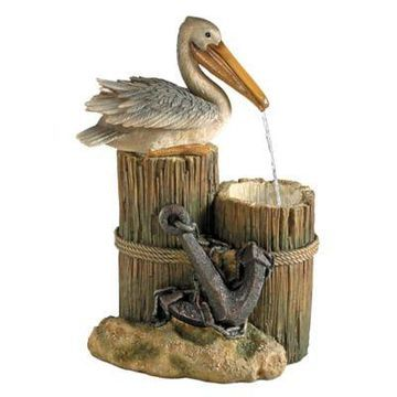 Design TOSCANO Pelican's Seashore Roost Fountain
