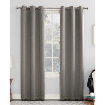 Sun Zero Preston Blackout Grommet Curtain Panel, 40