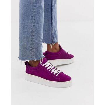 Vero Moda leather sneakers