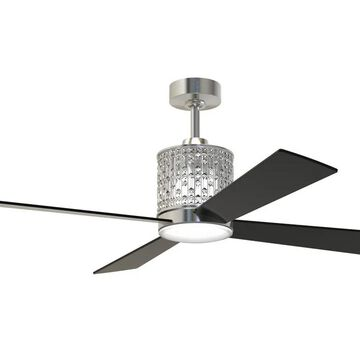 """Craftmade 52"""" Marissa Ceiling Fan in Brushed Polished Nickel"""