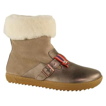 Birkenstock Women's Stirling Suede Leather Boots