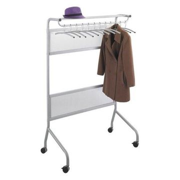 Safco Impromptu Garment Rack in Silver