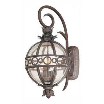 Troy B5002CB Two Light Campanile Bronze Wall Lantern