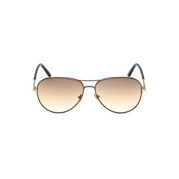 Clark 61MM Aviator Sunglasses