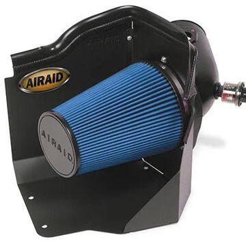 2007 GMC Sierra Airaid Intake System, Cold Air Dam System with Black Intake Tube