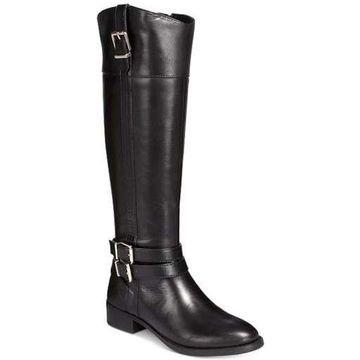 INC International Concepts Womens Frankii Leather Closed Toe