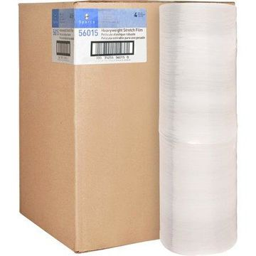 Sparco, SPR56015, Stretch Wrap Film, 4 / Carton, Clear