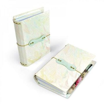 Sizzix ScoreBoards XL Die Pocket Notebook by Eileen Hull