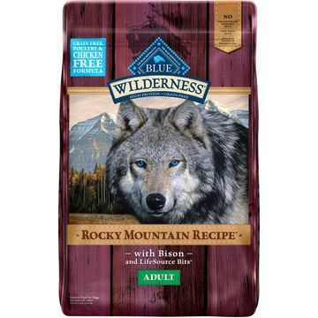Blue Buffalo Wilderness Rocky Mountain Recipe with Bison Adult Grain-Free Dry Dog Food