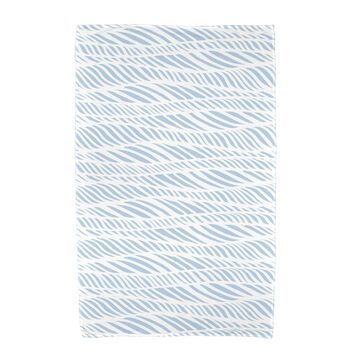36 x 72-inch E by Design Rolling Waves Geometric Print Beach Towel