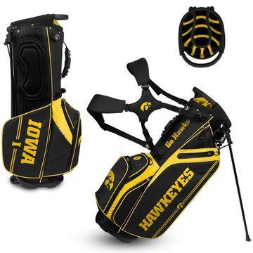 WinCraft Iowa Hawkeyes Caddie Carry Hybrid Golf Bag