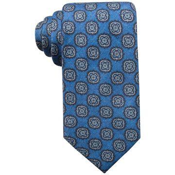 Tasso Elba Mens Medallion Self-tied Necktie